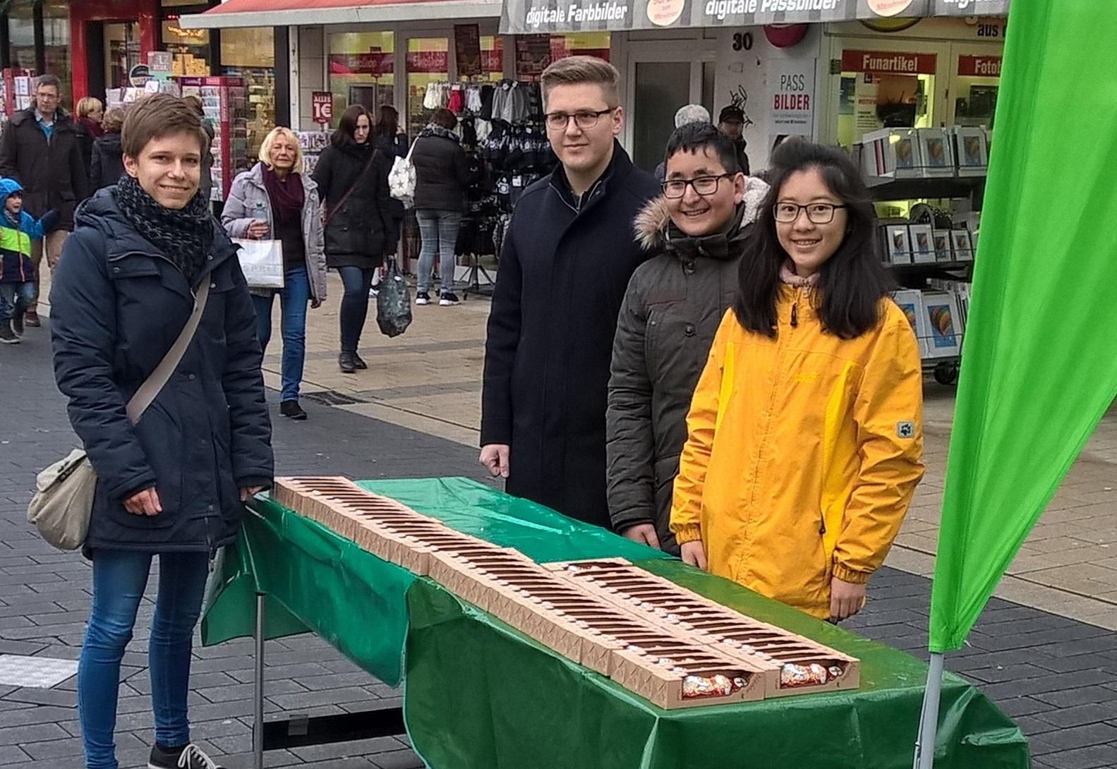 Grüne Jugend wirbt für nachhaltigen Konsum zu Weihnachten