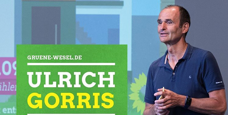 Ulrich Gorris ist GRÜNER Bürgermeisterkandidat für Wesel!