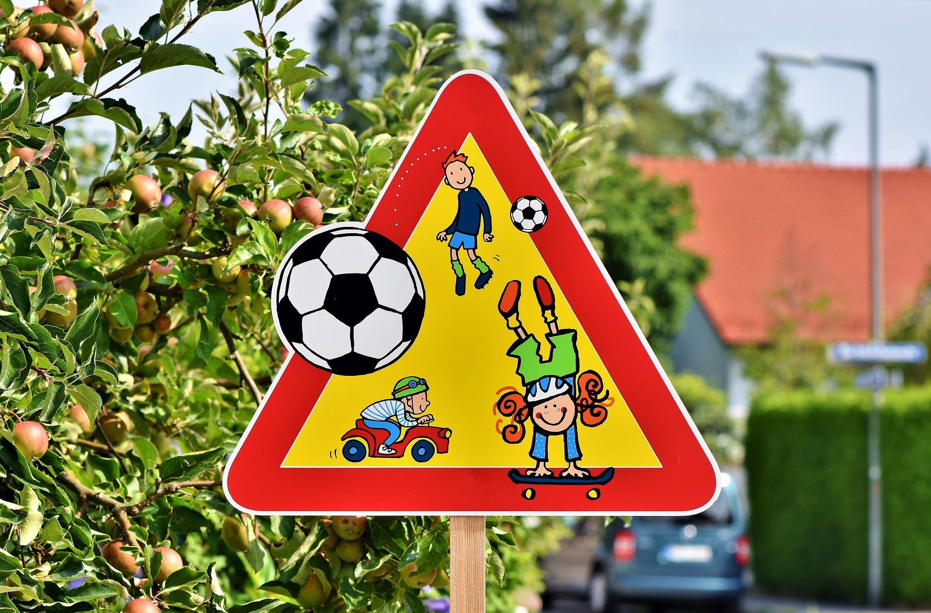 Straßen müssen für Kinder sicher sein