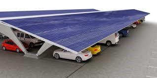Neue Parkplätze mit Fotovoltaik